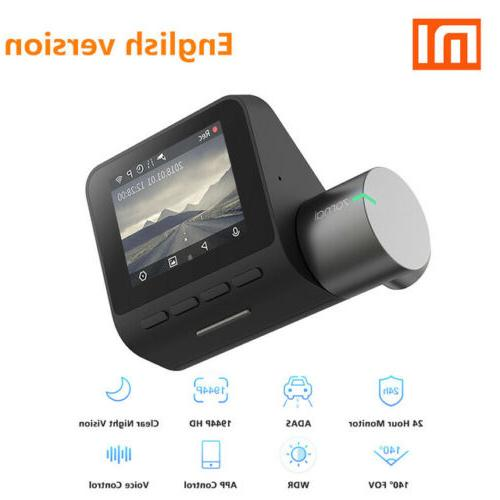 Xiaomi Cam Voice Control HD Smart Car Camera Recorder