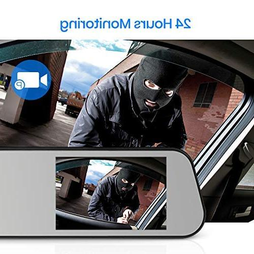 AUTO-VOX M6PRO FHD Cam Backup IP 68 LED Night Vision View License Plate Back up Car