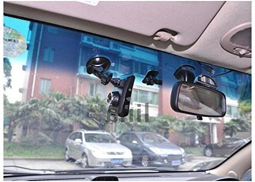 CINDISON Mini Camera Mount Dashcam Camera Video LS330W, LS400W,GT300W