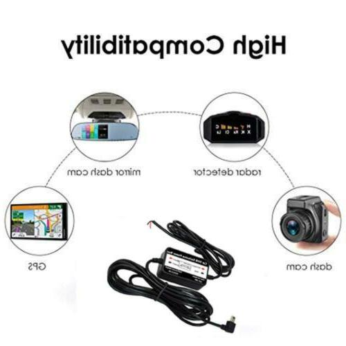 Mini Kit for Dash Cam Wire Car Charger 12V-24V