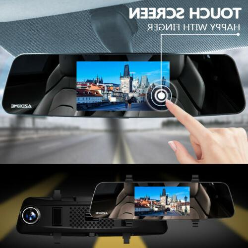 """AZDOME 4.3"""" Touch Dual Rear"""
