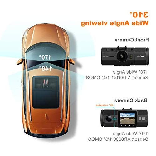 Dash Cam-1080P Cars Wide Cam Motion Detection, Night Vision