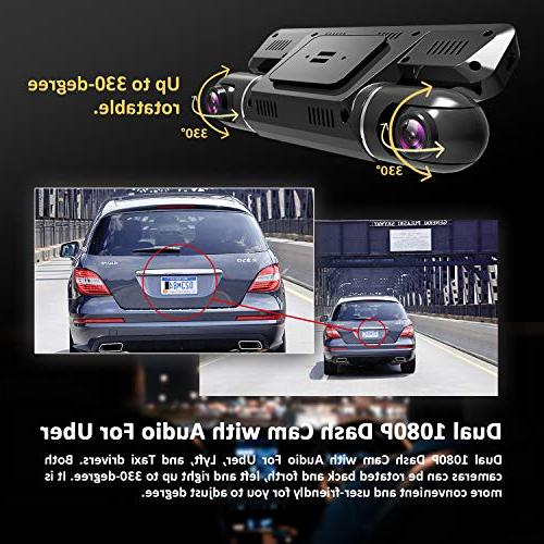 Vizomaoi Cam with Dual Front and Camera Cars, Taxi