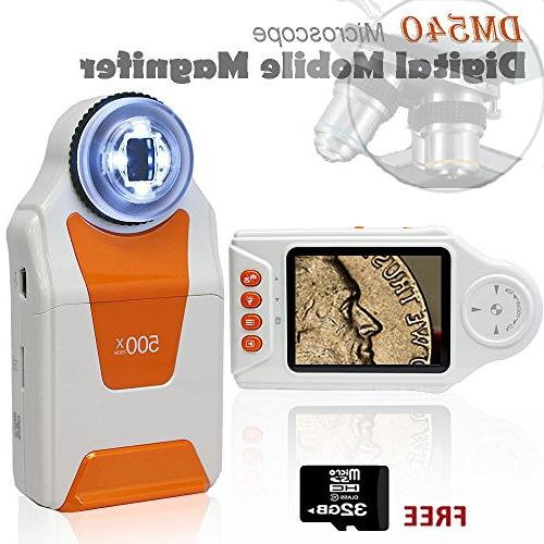 pocket microscope magnifier zoom 2