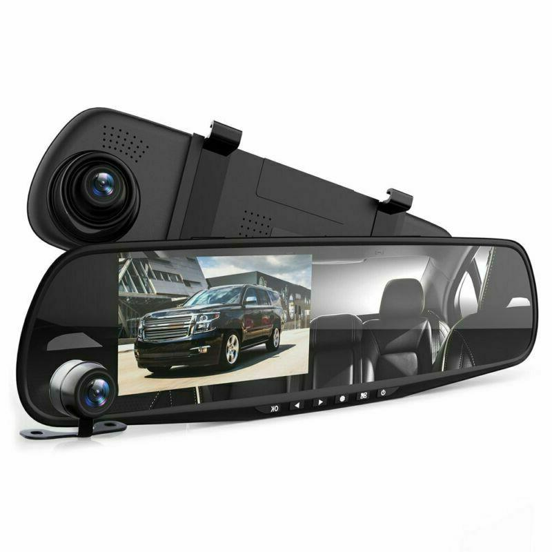 Car DVR Dual Camera HD New