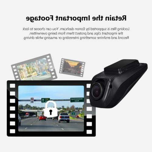 R0015 Front Dash Camera Wide angle DVR for Car