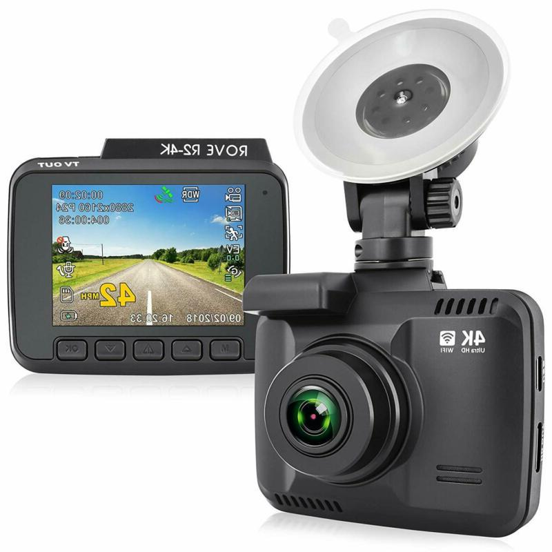 r2 4k dash camera with uhd 2160p