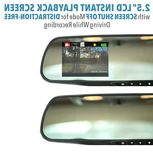 Official HD Mirror – As on TV Motion 720P HD, Video Recorder with Micro Card,