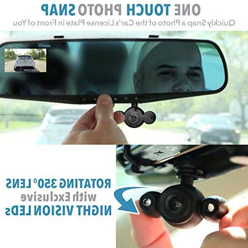 "Official HD TV 350°, Motion 2.5"" 720P Video with Micro Recording,"