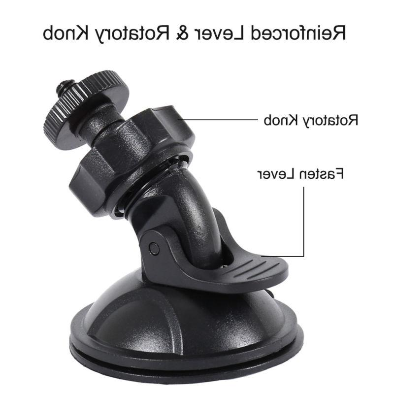 Suction Mirror Mount, Joint Clips,For Most Dash Mount GPS