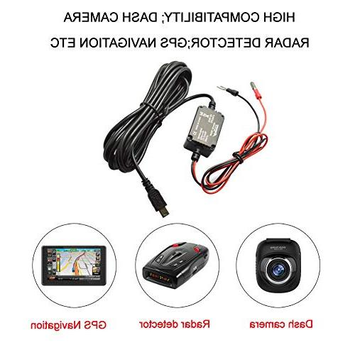 Meknic SV-PC01 Hardwire with Battery Drain Cam Hardwire Kit For DVR Or GPS Power Manual