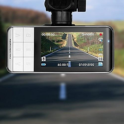 16GB TF Original Anytek@ 1080P inch TFT Screen Dash DVR Dashboard Camera 170 Wide Car DVR With WDR,