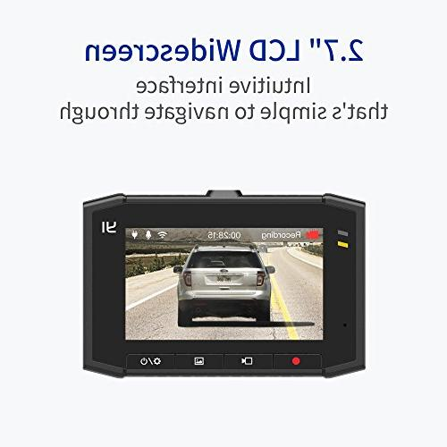 YI 2.7K Cam Screen, 140° Lens, Mobile APP, Processor, Voice Control, MEMS 3-axis and Vision