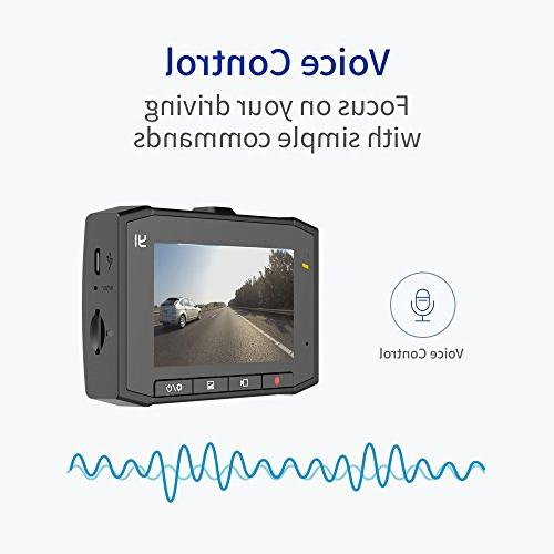 YI 2.7K Ultra Cam with Screen, Lens, Mobile Processor, Voice 3-axis and Vision