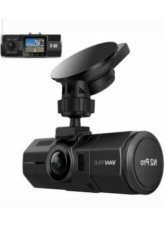 upgraded n2 pro dual dash cam infrared