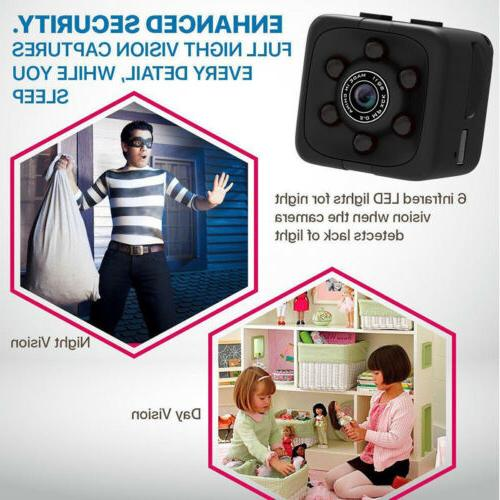 US SQ11 Spy DV DVR Full HD 1080P Mini Dash Cam IR Vision