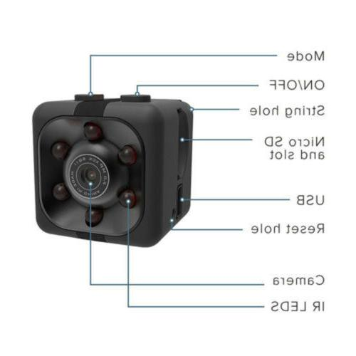US DV DVR Full HD 1080P Mini Dash Cam Vision