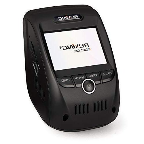 """Rexing V1P 1080p Full HD and 170 Wide Wi-Fi Dash with GPS Logger, 2.4"""" LCD Recording,"""
