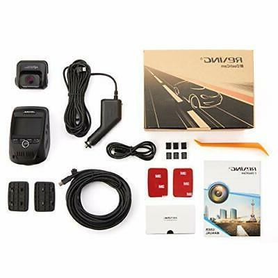 Car Dual 1080p Full HD Front Wide Angle GPS