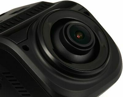 Rexing - V1P Plus Front and Rear Camera Dash Black