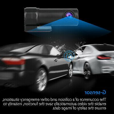 Wifi HD Dashboard DVR Dash Cam W/Night Vision