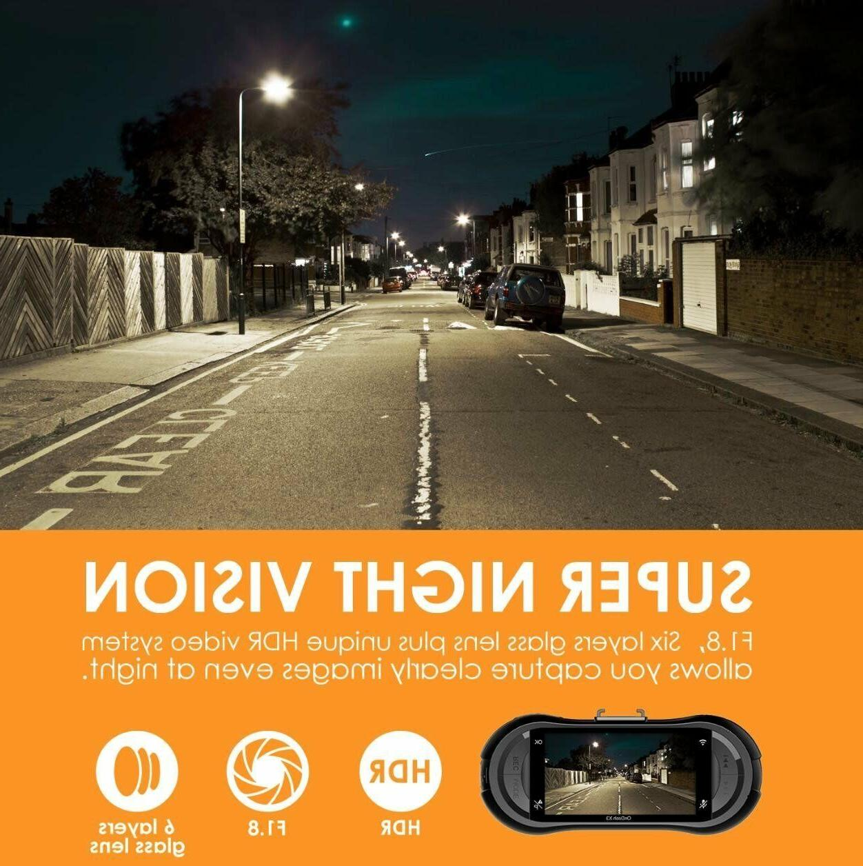 Vantrue Cam, Super HD 1440P Night Vision Parking Mode