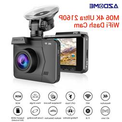 AZDOME M06 1080P 60FPS NT96660 GPS WIFI Car Dash Camera G-se