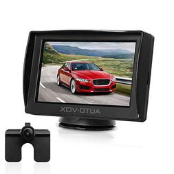 "Auto-Vox M1 4.3"" TFT LCD Backup Camera Kit Parking Assista"
