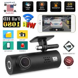 Mini 1080P HD Car Camera DVR Dash Cam Recorder with WiFi G-s