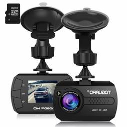 TOGUARD Mini Dash Camera for Cars HD 1080P Wide Angle 1.5""