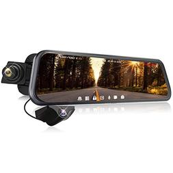 Mirror Camera 1080P Rearview Mirror Dash Cam Dual Starvis Im
