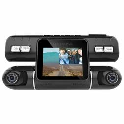 Pruveeo MX2 Dash Cam Front and Rear Dual Camera for Cars, 24
