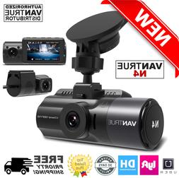 Vantrue N4 Dash Cam 3 Channel 1440P Front, 1080P Inside & Re