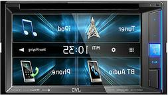 "NEW JVC 6.2"" Touchscreen Car Stereo CD/DVD Player with Bluet"
