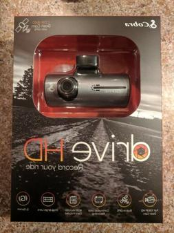 NEW! Cobra CDR 840 Drive 1080p HD Dash Cam with GPS and G-Se