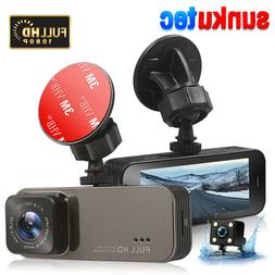 NEW Dash Cam 1080P HD Dual Camera Front And Rear View Cars M