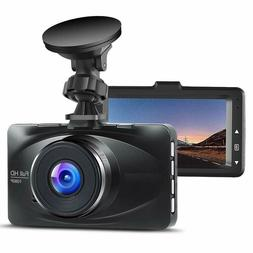 New Dash Cam FHD 1080P 3.0 inch LCD Screen Dashboard Camera