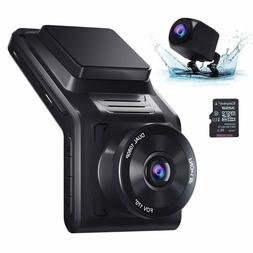 NEW AKASO Dash Cam Front and Rear, Dual 1080P Car Dash Camer