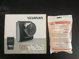 NEW PAPAGO GoSafe 200 Clip Mount Dash Cam with Power Supply
