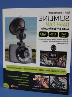 NIB itek Soundlogic Slimline Dash Cam Audio & Video Recorder