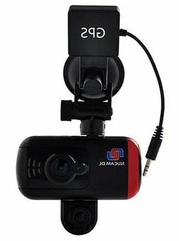 NuCam Dual Lens Dash Cam Front and Back HD 1080P Adjustable
