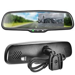 "Master Tailgaters OEM Rear View Mirror with 4.3"" Auto Adjust"