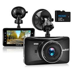 OldShark 1080p Dash Cam with 170° Wide-Angle Lens, Dashbo