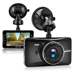 "OldShark Dash Cam, 3"" 1080P HD Car Recorder 170 Wide Angle N"