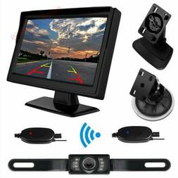 Parking System Wireless Car 5'' Auto Monitor Suction Cup/Das