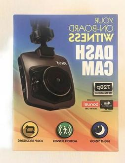 Pilot Dash Cam With 4GB Memory Card Included HD Night Vision
