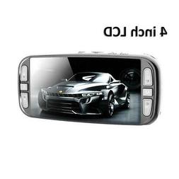 "Pinnacle 4K Dash Cam with GPS, WIFI, 4"" LCD, Best Dashcam in"