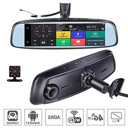 ShiZhen 8 inch 4G Touch IPS Special Car Dash Cam Rear View R
