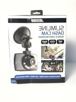 Amerisound Slimline Dash Cam 1080p Audio & Video Recorder Da