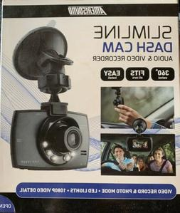 Amerisound Slimline Dash Cam Audio & Video Recorder 360* Swi